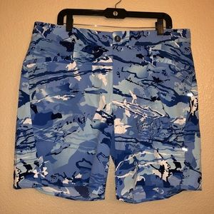 Under Armour Mens Storm Loose Hydro Camo Shorts